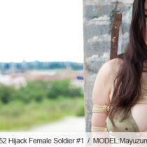 No.00352 Hijack Female Soldier #1 [25Pics] 極秘任務遂行のため敵地に潜入した有能な美人女兵士・・・。しかし、不幸にも敵