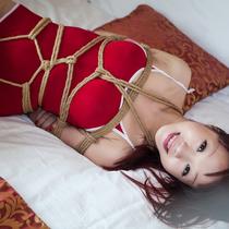 No.00671 Red Hair #2 君がいた夏はいつも緊縛ゲームがある、赤いスクール水着姿の彼女も我慢出来ない、こうしてつつける。。。
