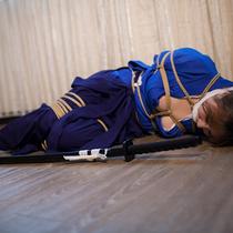 No.00691 Female swordsman #5 剣道女緊縛画像の最後のいちセットです、関連の動画はもすぐでるだよ、お楽しみに。