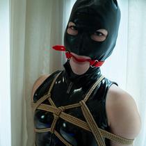 No.00816 Mask On Her Face #1 [27Pics] 猿轡とマスクどちらが好きですか、二つとも欲しいですか?緊縛とレオタード も入れますか?はい、勿論です。