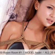 No.00389 Rosen Room #1 彼女は緊縛りのためにここにいます、ビキニを着でいます、後高手小手縛り好きです。