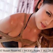 No.00417 Rosen Room #2 彼女は緊縛りのために黒いビキニを着でいます、お後高手小手縛り好き。
