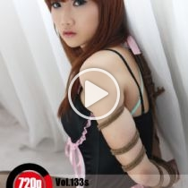 Vol.133s Black Lotus 黒いボディコン着ている可愛い女の子のMikoさんは、緊縛されてドキドキするに感じています。