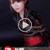 Vol.200 Plum Flower 浴衣の少女は緊縛りのことをもと知りたいです。だから、彼女に乳房縛りを準備した。