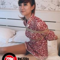 Vol.187 cheongsam #1 チャイナドレス少女が緊縛を慣れでる、後高手小手縛りや、屈脚梯子縛りも、全然大丈夫です。
