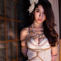 No.00606 Bondage Bride #2 [22Pics] よくみれば、このtyingart – 縛リ芸術の花嫁キャラ少女の下着緊縛画像は美しい、特にこのガードルと緊縛式(後高手小手縛り)の組み合わせ。