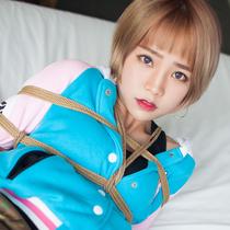 No.00642 Gamer #1 Mikanちゃんはまた縛られで緊縛写真を撮た、でも彼女はなんか嬉しいな気がする。