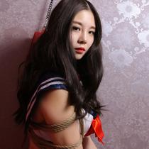 No.00693 Short Hair Sailor #4 とうとうこのコスプレ緊縛画像の最終回です、 Otohaさんも頑張ったね。セーラー服