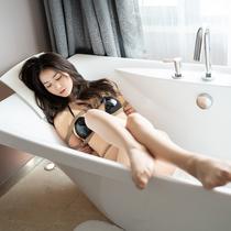 No.00796 Patent Leather Bikini #1 [25Pics] 今回黒いビキニ姿のLazzeさんは縛って、ホテルのバスタブでほじした。緊縛画像
