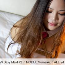 No.00329 Sexy Maid #2 セクシーなメイドはホテルの部屋で緊縛ゲームを遊んでいた。タブのゲームでした。
