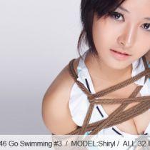 No.00346 Go Swimming #3 [32Pics] 夏が来ている、麻縄の緊縛、可愛い水着やパンストを着用泳ぎに行く。