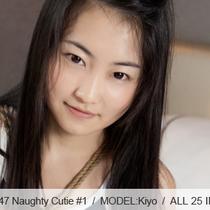 No.00347 Naughty Cutie #1 清美はスクール水着着ている可愛い子なんだけと、特別の趣味がある、それは緊縛です。