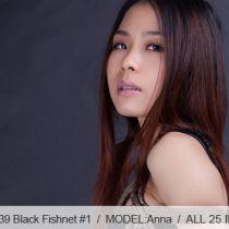 No.00339 Black Fishnet #1 この全身パンスト(網タイツ)着ている女の子はセクシーですね、緊縛を素晴らしい。