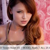 No.00437 Rosen Room #3 彼女は緊縛りのために黒いビキニを着ているですが、似合うから?そして、お後高手小手縛りでいいかな?
