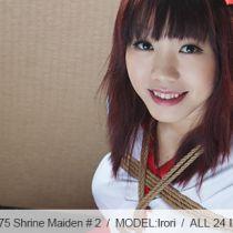 No.00572 Shrine Maiden #2 tyingart – 縛リ芸術巫女さまの緊縛画像です、後高手小手縛り